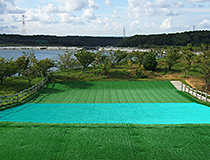 Slide with artificial turf photo01